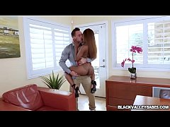 Sarah Banks pussy rammed doggystyle