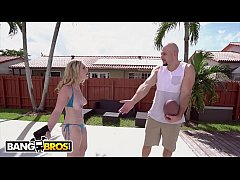 BANGBROS - Jmac Notices Kara Lee Sunbathing With Her Big Tits Hanging Out