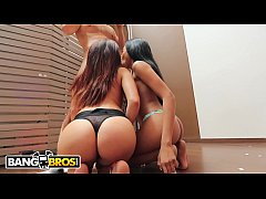 bangbros - young and sexy latin mamacitas giving lucky guy a blowjob in colombia
