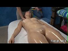 Watch those girls get drilled hard by their massage therapist