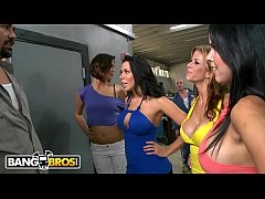 BANGBROS - MILF Pornstars With Impeccable Bodies Invade A Car Shop Looking For Dick