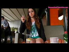 HD Exhibitionist Smoking Cigarettes & Showing Off In Public