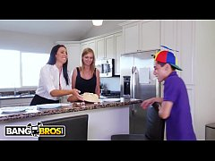 BANGBROS - Cougar Surprises The Birthday Boy With Cake And How MILF Pussy