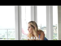 HOLED First time anal fuck with newcomer Carter Cruise