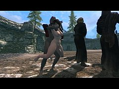 Sorceress defeated in skyrim