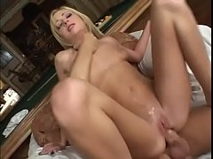 Dude with big dick deep drills hot blonde three ways