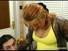 Eighties Sexy Mom Stocking Fetish Fuck