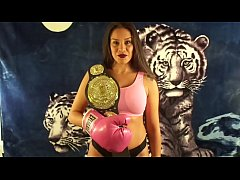 SILVANA VS MAN IN MIXED PUNCHING MATCH UIWP ENTERTAINMENT KING OF INTERGENDER SPORTS