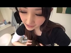 Beautician Beauty Comes Boobs Pressed Against The Face. SCOP 062 5