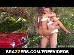Beautiful car model Madison Ivy has a SEXY body & loves hard cock