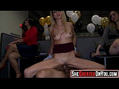 40 Milfs caught cheating on video at cfnm party15