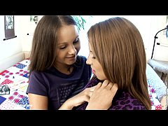 Innocent Seduction - lesbian scene with Dulce and Malin by SapphiX
