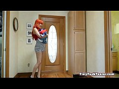 Petite Panty Snatch And Sniff - Gracie May Green and Savana Styles