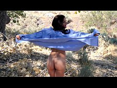 HD Mandy Flores Beach and Nude Modeling tease video
