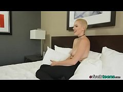 Topless Riley Nixon Casting Audition Interview