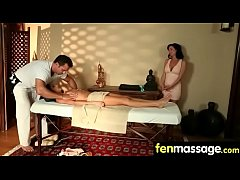 Massage and Gorgeous Passionate sex 13