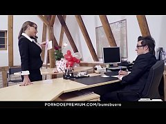 BUMS BUERO - Valentine's Day office bang with German MILF secretary Sexy Susi