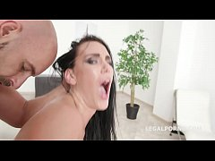 My First DP Kate Dee with Balls Deep Anal, DP
