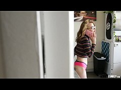 Kinky Family - Home alone with slutty stepsis Alina West
