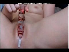 Clip sex Young Cute Country Girl Dildoing Creamy Pussy