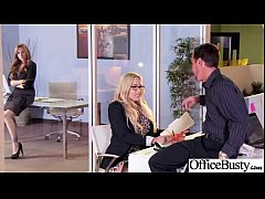 Bigtits Office Girl (julia olivia) Banged Hardcore movie-21