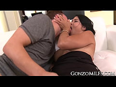Cum tasting MILF Dana Vespoli gets fucked from behind good