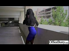 Sex Tape With Round Big Tits Horny Office Girl (amia miley) clip-03