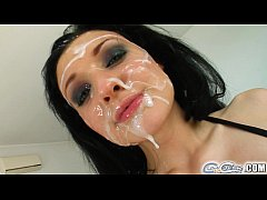 Cum For Cover Alien's sticky situation is all over her face