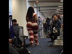 cherokeedass in the airport
