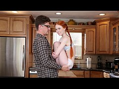 dontfuckmydaughter - young ginger seductress gets her teacher to fuck her firecrotch