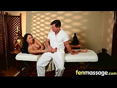 Sexy Masseuse Helps with Happy Ending 21