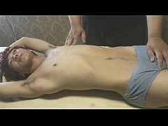 Asian Slave Boy Stripped And Exam