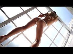 Beautiful amateur models dancing in erotic video compilation