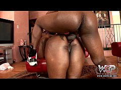 WCP CLUB Phat ass Ebony Slut Butterfly Anal fucked by BBC