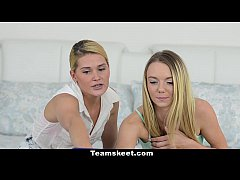 Dyked - Teen Best Friends Scissor On Webcam
