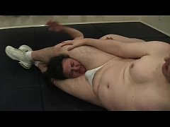 Sexy Mixed Head Scissor Domination