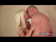 HITZEFREI Busty German blonde Celina Davis gets fucked
