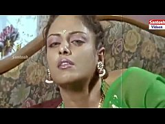 Indian lady in green saree and her casual sexual encounter with a mustache guy