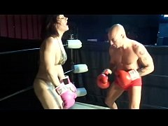 UIWP ENTERTAINMENT Amazon Female Body builder takes on a Guy