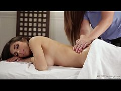 So you guys only massage women? - Maddy O'Reilly and Darcie Dolce