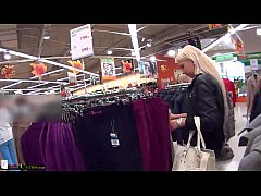 HD Two girls on public have sex for shopping free