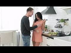 Anal-Angels.com - Jessica Lincoln - Hard sex instead of a dinner