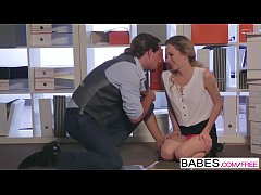 Babes - Office Obsession - (Tyler Nixon) - Filing Clerk Flirtation