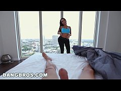 BANGBROS - Sexy MILF Lela Star Fucks Step Son Before Gym in POV