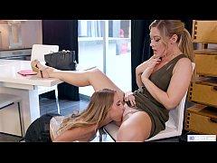 Hot Real Estate Agent Have Lesbian Sex - Cadence Lux, Addison Lee