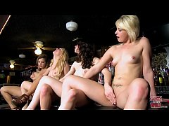 GIRLS GONE WILD - Lesbian Girls Night Out At Bar Turns Into A Good Time