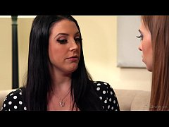 Realistic Maid Android Learns About Lesbian Love - Angela White and Jill Kassidy