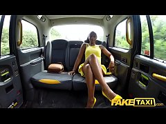 HD Fake Taxi Lovely ebony beauty Lola Marie empties cabbies balls