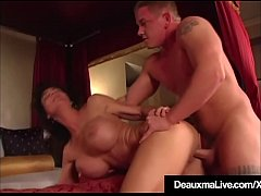 Texas Cougar Deauxma Gets Young Cock & Hubby Watches!