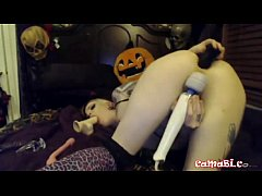 PENNY POISON plays with toys solo